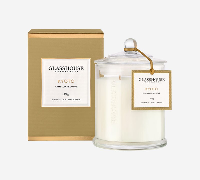 glasshouse fragrances candle kyoto camellia lotus 1 1 - Shop for flowers online