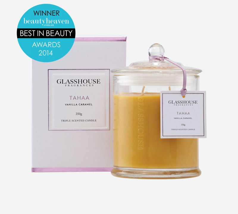 glasshouse fragrances candle tahaa vanilla caramel 2 1.1435220095 - Shop for flowers online