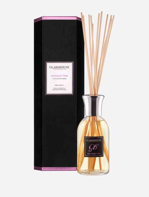 glasshouse fragrances diffuser manhattan little black dress 2 1 - Manhattan - Glasshouse Diffuser
