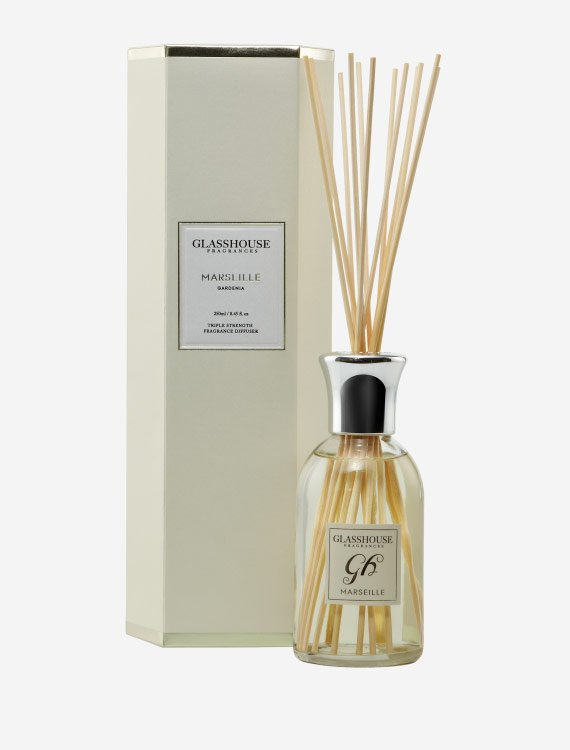 glasshouse fragrances diffuser marseille gardenia 2 1 - Shop for flowers online