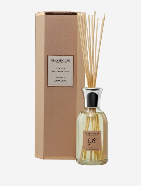 glasshouse fragrances diffuser persia jasmine wood vanilla 2 1 - Shop for flowers online