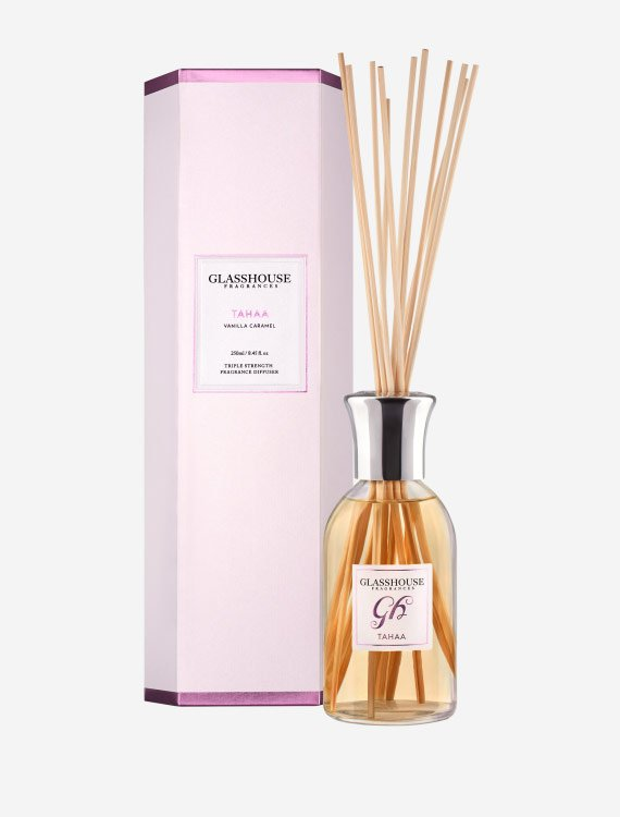 glasshouse fragrances diffuser tahaa vanilla caramel 3 1 - Shop for flowers online