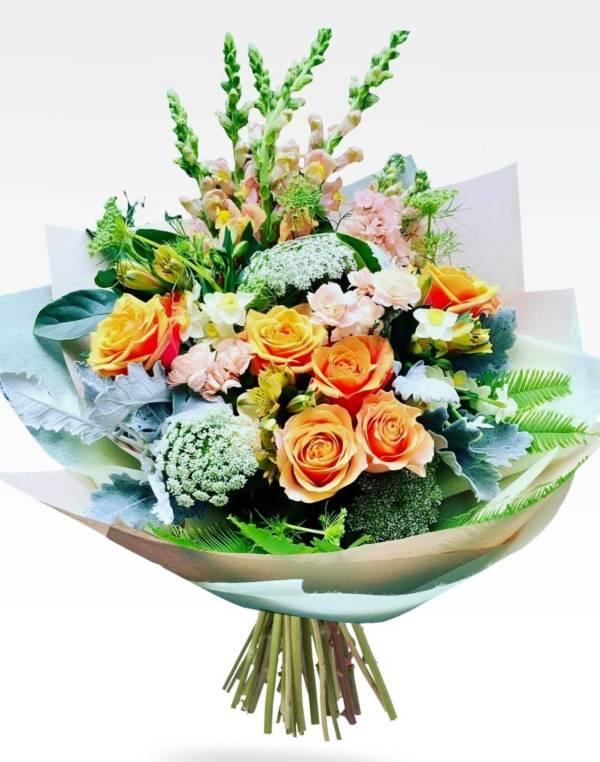 peachy keen bouquet