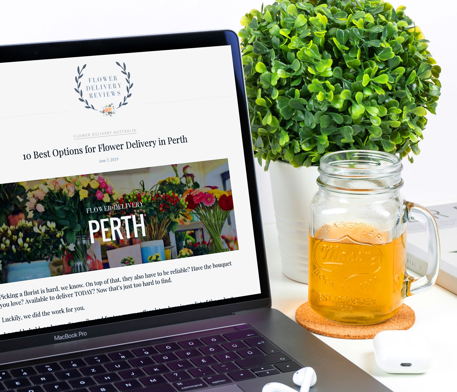 we've been listed on flowerdelivery-reviews.com