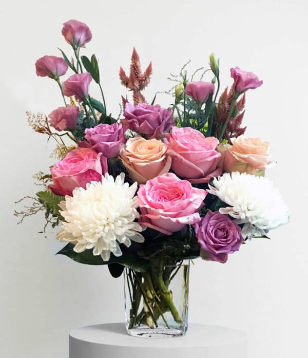 Blushing Beauty Arrangement